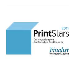 2011-PrintStars - d:Finalist bei den PrintStars 2011: KSG-Kalender 2011 'zielsicher'. - sd: