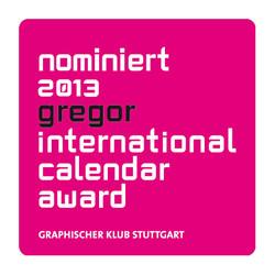 2013-grgeor - d:Nominierung gregor 2013: KSG-Kalender 'evolution'. - sd: