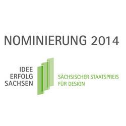 2014-Staatspreis - d:Nominierung zum Sächs. Staatspreis für Design: KSG-Kalender 2014 'Innovation trifft Leidenschaft'. - sd: