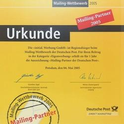 2005-2-dp-partner-min.jpg - d:2005: Auszeichung als Mailingpartner der Deutschen Post - sd: